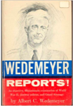 Book Wedemeyer Reports!
