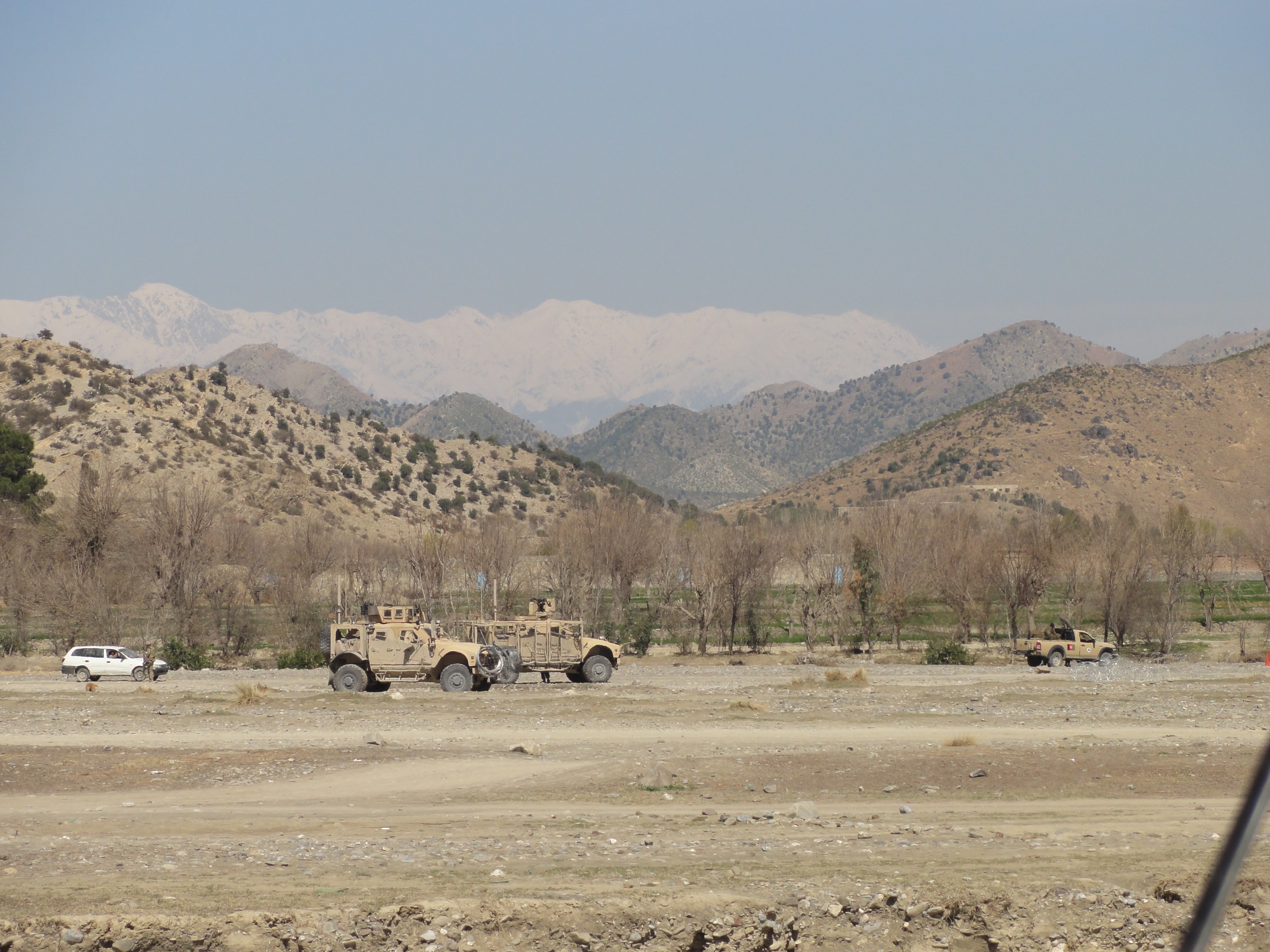 Clearing Operation in Afghanistan